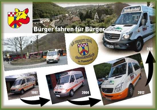 Ergänzender Linienverkehr Bürgerbus VER